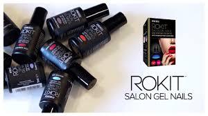 rokit professional gel nail polish kit with uv lamp youtube