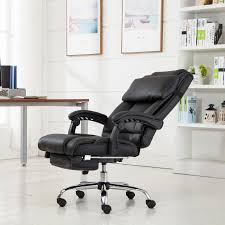 Leather Recliners South Africa Executive Reclining Office Chair Ergonomic High Back Leather