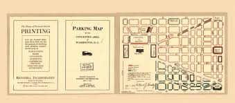 1922 congested parking map of d c ghosts of dc
