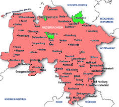 map of germany cities travels through germany map of niedersachsen hamburg bremen