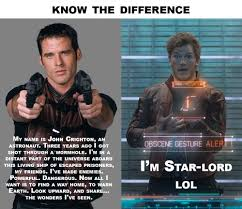 Guardians Of The Galaxy Memes - farscape of the galaxy know the difference guardians of the