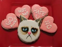 grumpy cat valentines grumpy cat valentines day cookies qnb