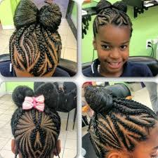 young black american women hair style corn row based cute but no weave please cyniah s crown pinterest kid braids