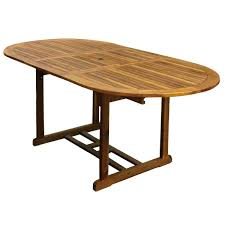 6 Seater Patio Furniture Set - charles bentley garden hardwood oval wooden garden patio furniture