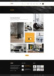 aqwa interior and furniture psd template by creative themes