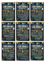 halloween party e invitations halloween party invitation halloween block party invite kids