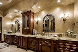 Paint Colors For Bathroom Vanity by Tuscan Style Bathroom Vanity Round Mirrors Valspar Paint Colors To