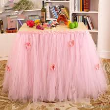 Pink Table Skirt by Online Cheap Queen Snowflake Tutu Table Skirt Custom Winter
