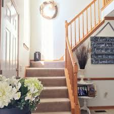 stair case from drab to fab diy staircase remodel u2014 the other side of neutral
