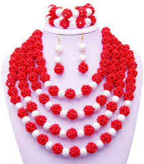 pink coloured beads necklace images 2018 2015 latest design fashion purple green nigerian african jpg