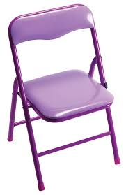 kids only playtime padded folding chair purple cushion color