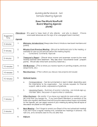 nonprofit board meeting agenda template non profit board meeting