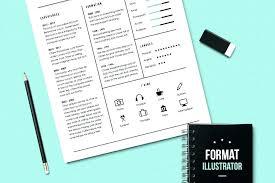 illustrator resume templates illustrator resume templates il resume templates the best exles