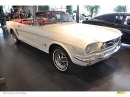 1964 wimbledon white ford mustang convertible 53410267 gtcarlot