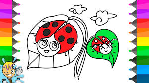 how to draw ladybug coloring pages learning drawing creativity
