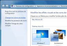 windows 7 icone bureau disparu bureau icônes et fenêtres windows 7 aidewindows