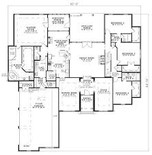 awesome floor plan with master floor plan of european house plan 82145 screened in porch