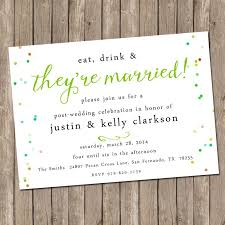 post wedding reception wording exles post wedding brunch invitation amulette jewelry