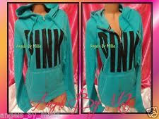 victoria secret pink campus backpack gray morning sky blue hoodie