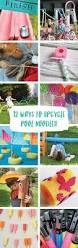 discover fun modern twists on recycled pool noodles