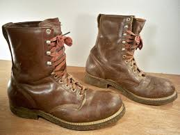 mens boots offer vintage world war ii era lace up military style