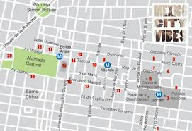 map ot mexico city maps a great resource for your trip ot the city