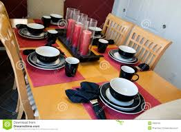 table setting for dinner home decorating interior design bath