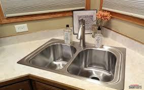 kitchen sinks kitchen sink faucet glue pedestal no faucet holes