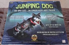 spirit halloween jumping dog motorthread automotive enthusiast