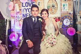 wedding backdrop philippines real weddings jonas jobelle s distance story and