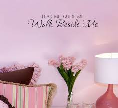online get cheap wallpaper sticker bedroom bible aliexpress com lead me guide me walk bible vinyl wall quote home decoration living room decorative stickers bedroom wallpaper