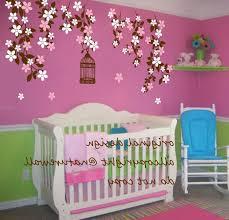 nursery wall decals tree wooden toy shelf white wooden shelf