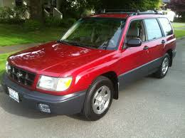 subaru forester red 1999 subaru forester awd auto sales