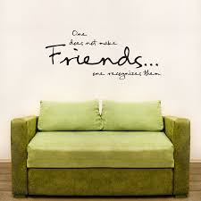 Photo Wall Stickers One Does Not Make Friends Wall Art Decals