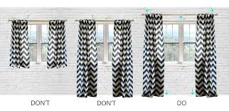 Home Tips Curtain Design Hanging Curtains How To Hang Curtains Using Ring Clips Curtain