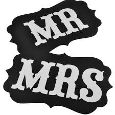 photo booth signs mr and mrs photo props mr and mrs chair signs and groom