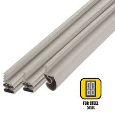 Weather Stripping Exterior Door Shop M D 6 75 Ft Beige Vinyl Door Weatherstrip At Lowes