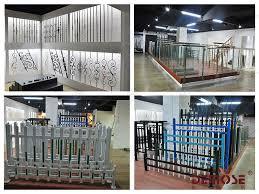 modern outdoor interior glass railing designs for balcony buy