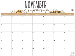 2017 printable calendar for imom