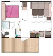 mobil home 1 chambre mobil home ciel 2 personnes 1 chambre 1 salle d eau location