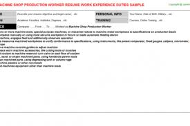 Sample Resume For Production Worker by Process Worker Resume Samples Fossa Schhh You Know Resume