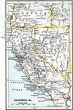 map of oregon nevada united states western states