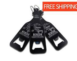 personalized keychain party favors 24 of personalized keychain bottle and can opener engraved