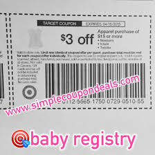 Target Patio Coupon by New 3 Off 15 Baby Toddler Apparel Coupon Target Simple