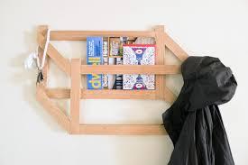 make it modern diy 3d trompe l u0027oeil coat rack design milk