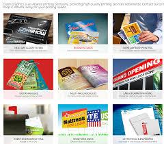 atlanta printing company flyer printing atlanta business cards
