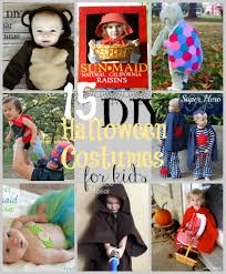 15 diy halloween costumes for kids u2013 do small things with love