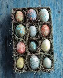Natural Easter Decorations eco friendly decorating easter eggs with natural colors