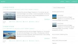 download theme blogspot seo friendly blogger templates