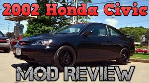 2002 honda civic reviews 2002 honda civic mod review